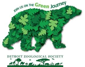 Detroit Zoological Society Greenprint logo