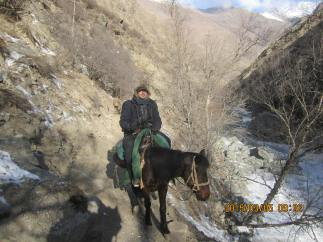 Paul Buzzard - China horseback